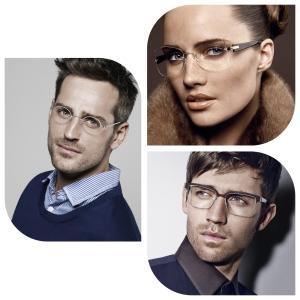 Gafas de titanio. Lindberg