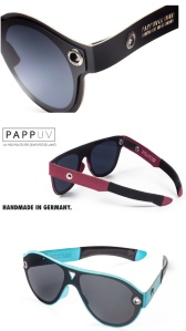 Gafas de papel. Papp Up UV